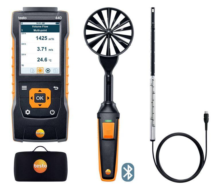 お歳暮 テストー 4406) (testo) テストー マルチ環境計測器 testo440 風速プローブセット1 (0563 (0563 4406) (Bluetooth対応), セッツシ:a929befb --- celebssnapchat.com