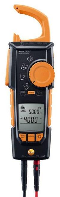テストー (testo) AC/DCクランプメーター testo770-2 (0590 7702)