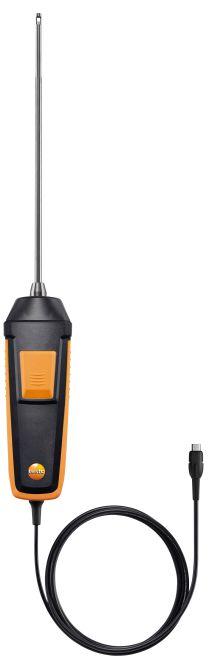 テストー (testo) 高速応答気体デジタルプローブ 0618 0072 (Pt100 温度センサ搭載)