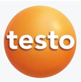 テストー (testo) 温度センサー付ストレートピトー管(1000mm) 0635 2243