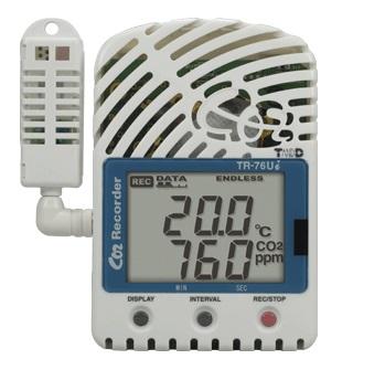 CO2・温度・湿度データロガー T&D TR-76Ui