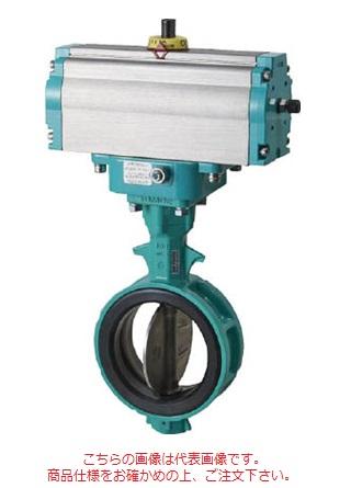 トモエバルブ ゴムシートバルブ 空気圧シリンダ式(複作動) 700Z-7E-50-S-E (ADC12/EPDM) (495-4581)