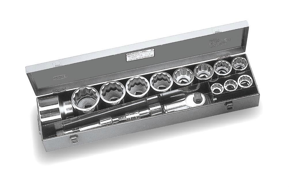 """TONE (トネ) ソケットレンチセット 250M 〈差込角 25.4mm(1"""")〉"""
