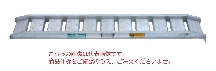 鳥居金属興業(アルコック) ブリッジ(あゆみ歩行型) NAS-0612M (アングルフック)(1セット2本)