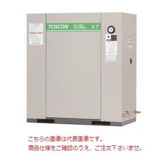 【直送品】 東芝 (TOSHIBA) エアコンプレッサー 無給油式 FLP85-22T (三相200V 50Hz)〈コンプレッサ単体形〉