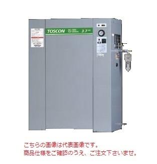 【直送品】 東芝 (TOSHIBA) エアコンプレッサー 無給油式 FLP86-37TAD (三相200V 60Hz)〈冷凍式エアドライヤ内蔵形〉