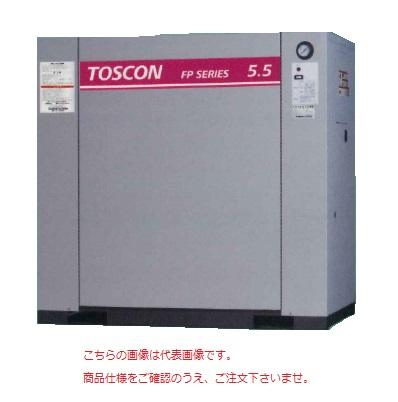 【直送品】 東芝 (TOSHIBA) エアコンプレッサー 給油式 FP145-22T (三相200V 50Hz)〈コンプレッサ単体形〉