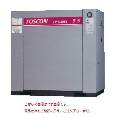 【直送品】 東芝 (TOSHIBA) エアコンプレッサー 給油式 FP146-75T (三相200V 60Hz)〈コンプレッサ単体形〉