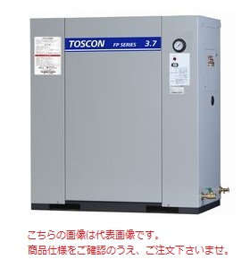 【代引不可】 東芝 (TOSHIBA) エアコンプレッサー 給油式 FP85-110T (三相200V 50Hz)〈コンプレッサ単体形〉 【メーカー直送品】