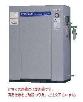 【直送品】 東芝 (TOSHIBA) エアコンプレッサー 給油式 FP85-55TAD (三相200V 50Hz)〈冷凍式エアドライヤ内蔵形〉
