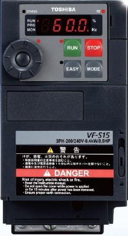 【直送品】 東芝 (TOSHIBA) 多機能・小形インバータ VFS15-2015PM (TOSVERT VF-S15)