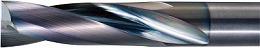 京セラ ソリッドエンドミル 2ZDK100 (652-6349) 《超硬スクエアエンドミル》