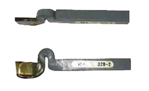 高周波 ヘール突切25mm TTB-32-7 (418-7351) 《ハイス付刃バイト》