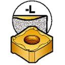 サンドビック コロミル345用チップ 1030 10個入 345R-1305M-PL 1030 (359-4467) 《チップ》