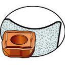 サンドビック(株) サンドビック スーパーUドリル用チップ 1044 10個入 880-09 06 08H-C-LM (607-7757) 《チップ》