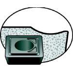 サンドビック(株) サンドビック スーパーUドリル用チップ 4044 10個入 880-04 03 W05H-P-GM 4044 (694-1079) 《チップ》