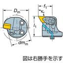 【SEAL限定商品】 《ホルダー》:道具屋さん店 コロターンSL サンドビック 570-DDUNR-32-11 コロターンRC用カッティングヘッド (251-5130)-DIY・工具
