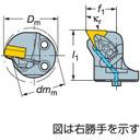 【本物保証】 《ホルダー》:道具屋さん店 サンドビック 570-DTFNL-32-16-L コロターンRC用カッティングヘッド コロターンSL (251-5202)-DIY・工具