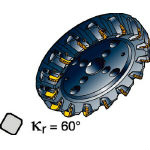 【代引不可】 サンドビック コロミル360カッター 360-400Q60-Z15D28 (561-0095) 《ホルダー》 【メーカー直送品】