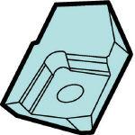 サンドビック コロミル360用カセット 360L-CA-28 (561-0206) 《ホルダー》