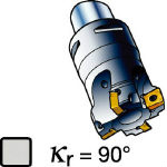 サンドビック コロミル490カッター 490-020C3-08L (562-0724) 《ホルダー》