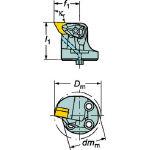 サンドビック コロターンSL コロターンRC用カッティングヘッド 570-DDUNL-40-15X (601-2957) 《ホルダー》