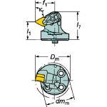 サンドビック コロターンSL コロターンRC用カッティングヘッド 570-DDXNL-40-15-L (601-2981) 《ホルダー》