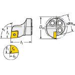 サンドビック コロターンSL コロターン111用カッティングヘッド 570-SCLPR-16-06 (601-3058) 《ホルダー》