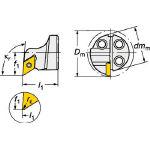 サンドビック コロターンSL コロターン111用カッティングヘッド 570-SDUPR-25-07-DX (601-3155) 《ホルダー》
