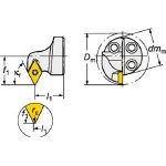 サンドビック コロターンSL コロターン111用カッティングヘッド 570-SDXPL-25-07-D (601-3198) 《ホルダー》