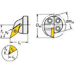 サンドビック コロターンSL コロターン107用カッティングヘッド 570-SVQCL-25-11-D (601-3309) 《ホルダー》