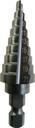 トラスコ中山(株) TRUSCO ステップドリル 2枚刃黒染め表面処理 5~25mm 段数11 NMS-25 (138-4520) 《ステップドリル》