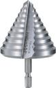 TRUSCO 六角軸樹脂用ステップドリル 2枚刃 45~55mm NMS-55P (287-1815) 《ステップドリル》