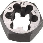 TRUSCO 六角サラエナットダイス PS7/8-14 TD6-7/8PS14 (432-9236) 《ねじ山修正工具》