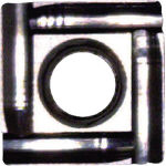 富士元 ウラトリメン-C専用チップ 超硬K種 超硬 12個入 SPET06T104 (338-0513) 《工作機用面取り工具》
