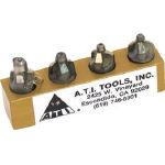 ATI カウンターシンクインテグラルパイロット3フルートセット ATI420D-4PC (490-2912) 《カウンターシンク》