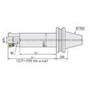 日立ツール アーバ BT50-22.225-150-63 BT50-22.225-150-63 (428-3651) 《ツーリング工具》