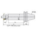 日立ツール アーバ BT50-31.75-80-80 BT50-31.75-80-80 (428-3830) 《ツーリング工具》