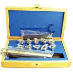 ETM ストレートシャンクミニミニコレットチャックセット NO.712178 (523-5341) 《ツーリング工具》