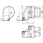 京セラ ツーリング機器 T63H-KGBAR-22-25 (553-2060) 《ツーリング工具》