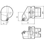京セラ ツーリング機器 T63H-KTNR-22 (553-2094) 《ツーリング工具》