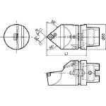 京セラ ツーリング機器 T63H-PCMNN-L12 (553-2205) 《ツーリング工具》