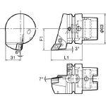 京セラ ツーリング機器 T63H-PDJNR-DX15 (553-2221) 《ツーリング工具》