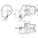 京セラ ツーリング機器 T63H-PTGNL-DX16 (553-2256) 《ツーリング工具》