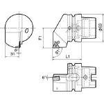 京セラ ツーリング機器 T63H-PTGNR-DX16 (553-2264) 《ツーリング工具》