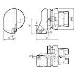 京セラ ツーリング機器 T63H-PWLNL-DX08 (553-2272) 《ツーリング工具》