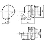 京セラ ツーリング機器 T63H-PWLNR-DX08 (553-2281) 《ツーリング工具》