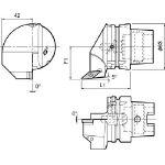 京セラ ツーリング機器 T63H-SVLBR-DX16N (553-2353) 《ツーリング工具》