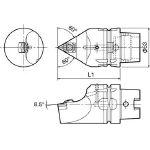 京セラ ツーリング機器 T63H-WTENN-L16 (553-2396) 《ツーリング工具》
