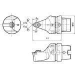 京セラ ツーリング機器 T63H-WWMNN-L08 (553-2418) 《ツーリング工具》